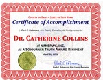 Awards; 2016-04-30; Sojourner Truth Award (2) by Catherine Collins