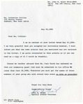 Correspondence; 1986-05-28; Annual NAACP Family Banquet by Catherine Collins