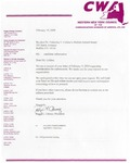 Elections-Appointments; 2009-02-19; WNY Council of Communication Workers of America