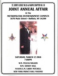 Events & Outreach; 2018-03-17; Joint Annual Affair by Catherine Collins