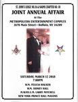 Events & Outreach; 2018-03-17; Joint Annual Affair
