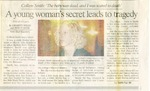 Newspapers; 2003-10-26; Colleen Smith Article Compilation