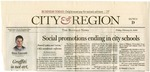 Newspapers; 2006-02-10; Buffalo News; Social Promotions Ending in City Schools