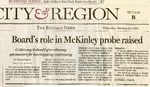 Newspapers; 2008-02-27; Buffalo News; Board's Role in McKinley Probe Raised