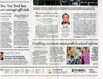 Newspapers; 2016-09-20; Buffalo News; Crafting a Common Sense Approach to School Reform