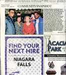 Newspapers; 2017-03-27; Niagara Gazette; Community Snapshot by Catherine Collins