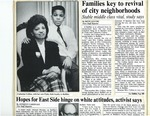 Newspapers; 1990-02-22; Families Key to Revivial of City Neighborhoods by Catherine Collins