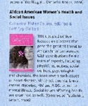Publications; 2006; African American Women's Health and Social Issues by Catherine Collins