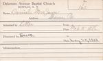 Daniels, Mrs. Jane by Delaware Avenue Baptist Church