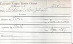 Anderson, Mrs. Julia by Delaware Avenue Baptist Church