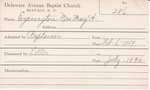 Eyerington, Mrs. Mary A