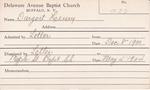 Dargert, Mr. Henry by Delaware Avenue Baptist Church