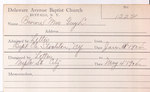 Brown, Mrs. Guy L by Delaware Avenue Baptist Church