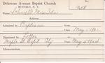Schnell, Miss. Ida by Delaware Avenue Baptist Church