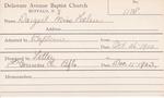 Dargert, Ms. Helen by Delaware Avenue Baptist Church