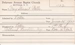 Frey, Mr. Stuart Wells by Delaware Avenue Baptist Church