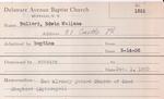 Bullard, Mr. Edwin by Delaware Avenue Baptist Church