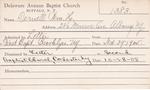Dernell, Mr. William H by Delaware Avenue Baptist Church