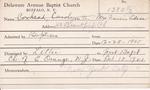 Edson, Mrs. Francis by Delaware Avenue Baptist Church