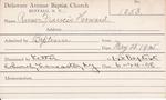 Russ, Mrs. Frances Howard by Delaware Avenue Baptist Church