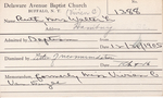 Ruth, Mrs. Walter L by Delaware Avenue Baptist Church