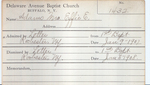Adams, Mrs. Effie by Delaware Avenue Baptist Church