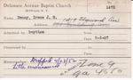 Denny, Ms. Irene by Delaware Avenue Baptist Church