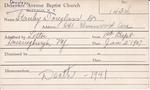 Stanley, Dr. Douglass by Delaware Avenue Baptist Church
