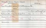 Anderson, Mr. William by Delaware Avenue Baptist Church