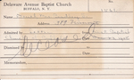 Deuel, Mrs. Bradley S by Delaware Avenue Baptist Church