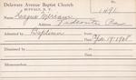 Hague, Ms. Miriam by Delaware Avenue Baptist Church