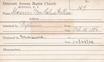 Stearns, Ms. Helen by Delaware Avenue Baptist Church