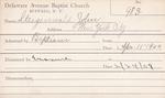 Steigenwald, Mr. John by Delaware Avenue Baptist Church