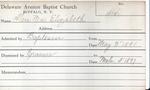 Allen, Miss. Mabel by Delaware Avenue Baptist Church