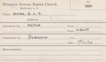 Grotke, M. HAC by Delaware Avenue Baptist Church
