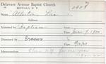 Allerton, Ms. Lois by Delaware Avenue Baptist Church