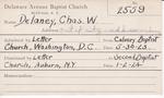 Delaney, Mr. Charles W