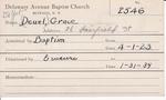 DeYol, Mrs. Grace