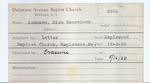 Ackmann, Miss. Genevieve by Delaware Avenue Baptist Church