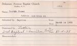 Casten, Mr. James by Delaware Avenue Baptist Church
