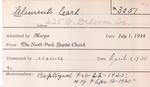 Clement, Mr. Earl by Delaware Avenue Baptist Church