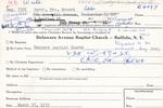 Burch, Mrs. Robert by Delaware Avenue Baptist Church