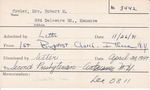 Fowler, Mrs. Robert M by Delaware Avenue Baptist Church
