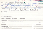 Robert, Mr. Robert by Delaware Avenue Baptist Church