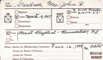 Gardner, Mrs. John H