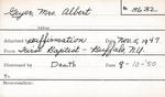 Geyer, Mrs. Albert by Delaware Avenue Baptist Church