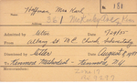 Hoffman, Mrs. Karl by Delaware Avenue Baptist Church