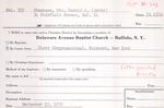 Stephenz, Ms. Betty by Delaware Avenue Baptist Church