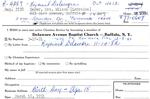 Geyer, Mr. Wilson by Delaware Avenue Baptist Church