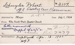 Schuyler, Mr. Robert by Delaware Avenue Baptist Church